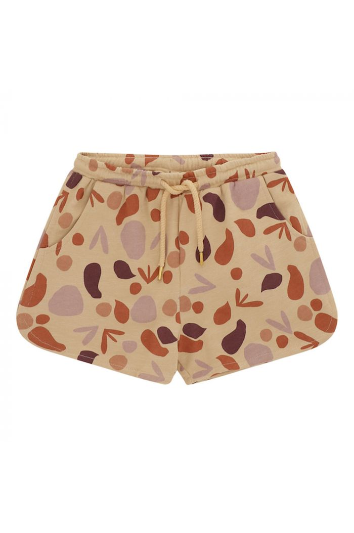 Soft Gallery Paris Shorts Beige, All-over print Shapes_1