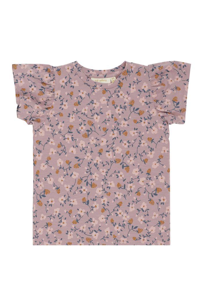 Soft Gallery Helen T-shirt Woodrose, All-over print Flowerberry_1