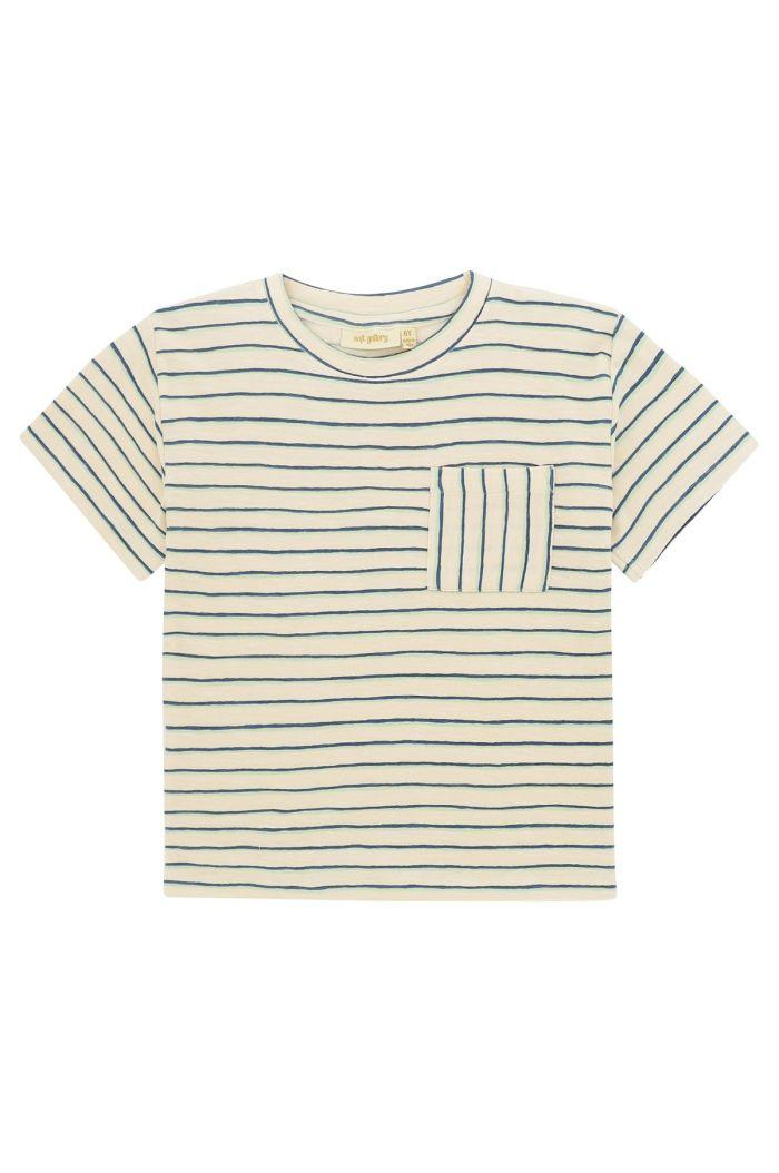 Soft Gallery Asger T-shirt Gardenia, All-over print Flounce_1