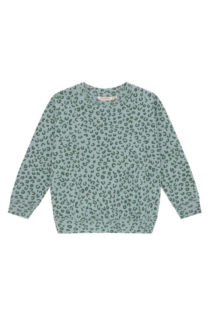Soft Gallery Baptiste Sweatshirt Slate, All-over print Leospot L_1