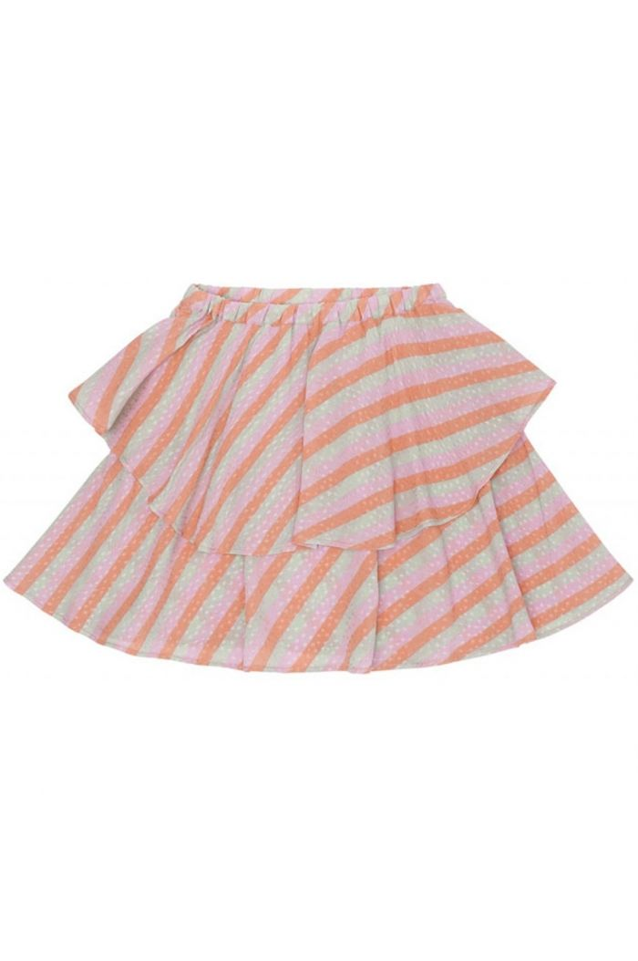 Soft Gallery Heather Skirt Dewkist, All-over print Candystripe_1