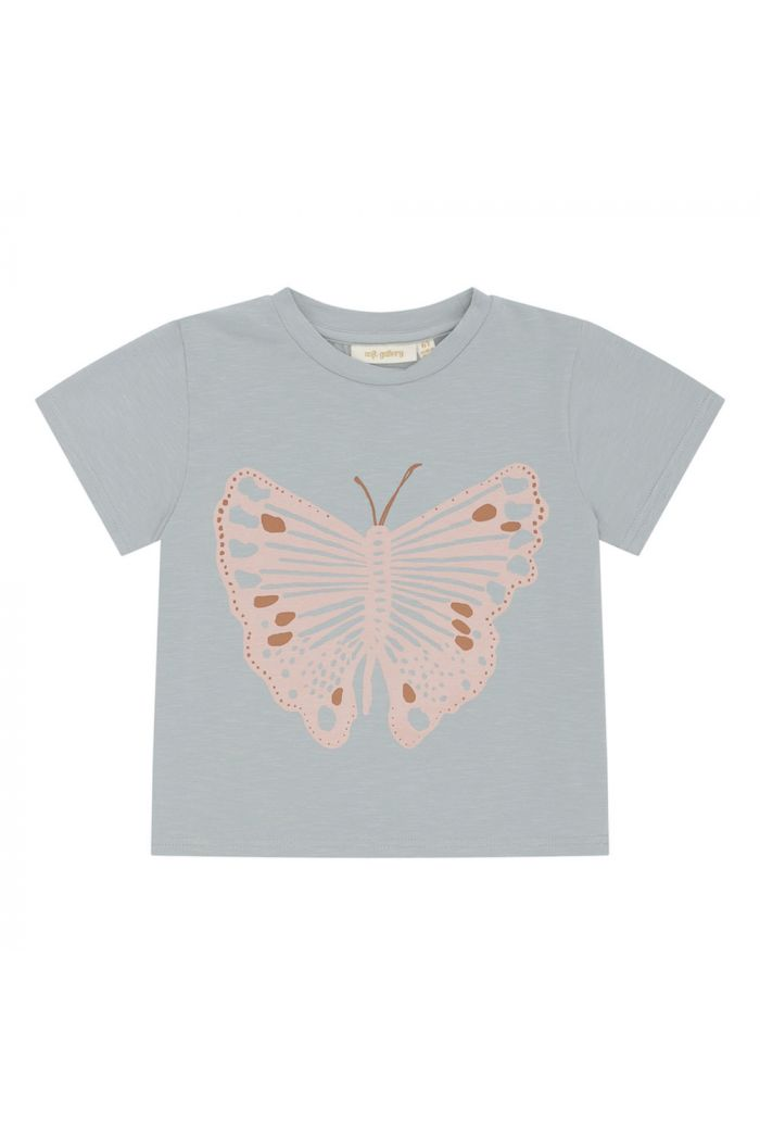 Soft Gallery Dominique T-shirt Abyss, Monarch_1