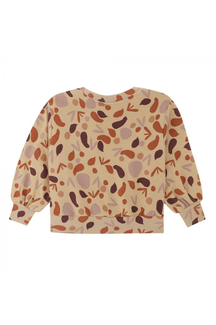 Soft Gallery Elvira Sweatshirt Beige, All-over print Shapes_1