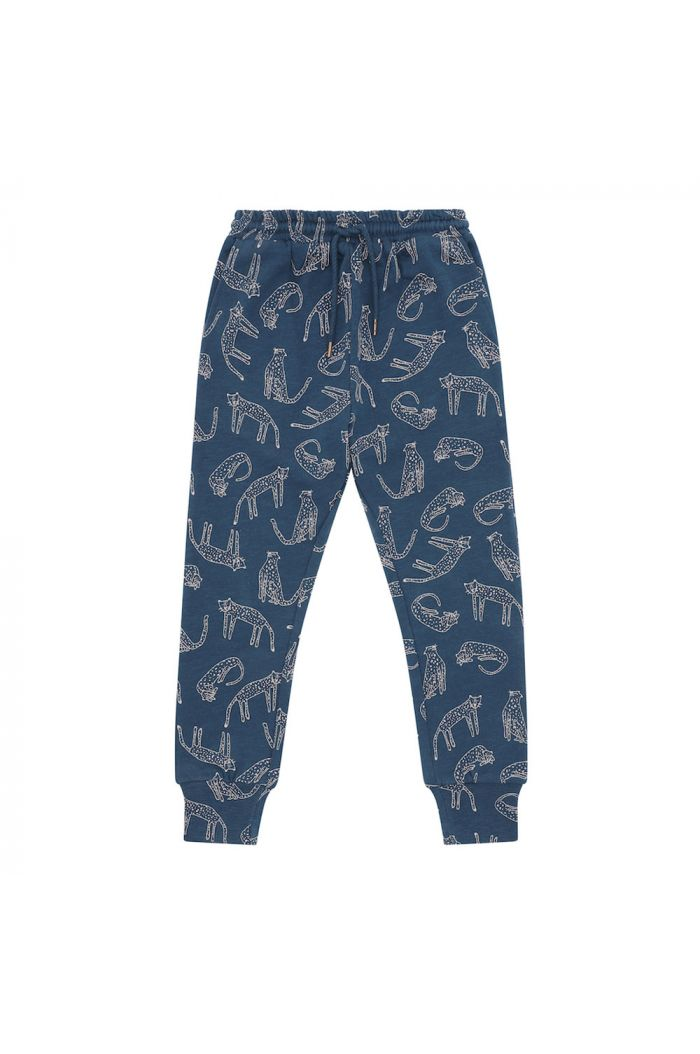 Soft Gallery Jules Pants Majolica Blue, All-over print Loeline_1