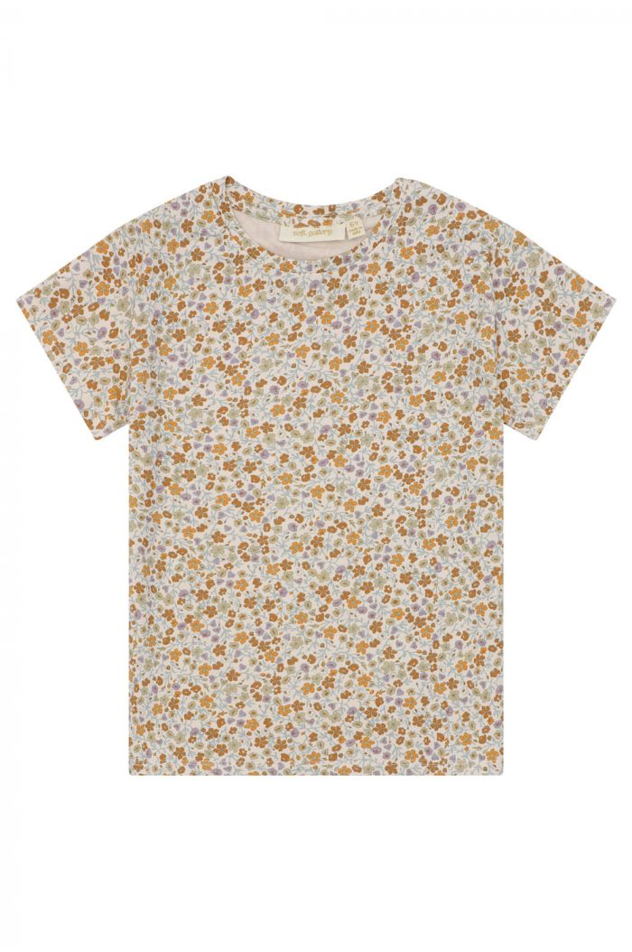 Soft Gallery T-shirt Pilou Floral Dew, All-over print Floral S_1