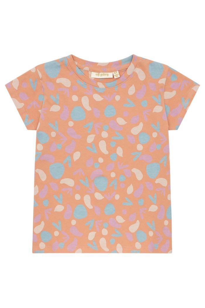 Soft Gallery Kids Pilou T-shirt Shapes Sandstone_1