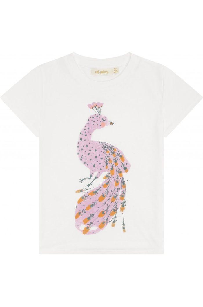 Soft Gallery Bass T-shirt Snow White, Sashay_1