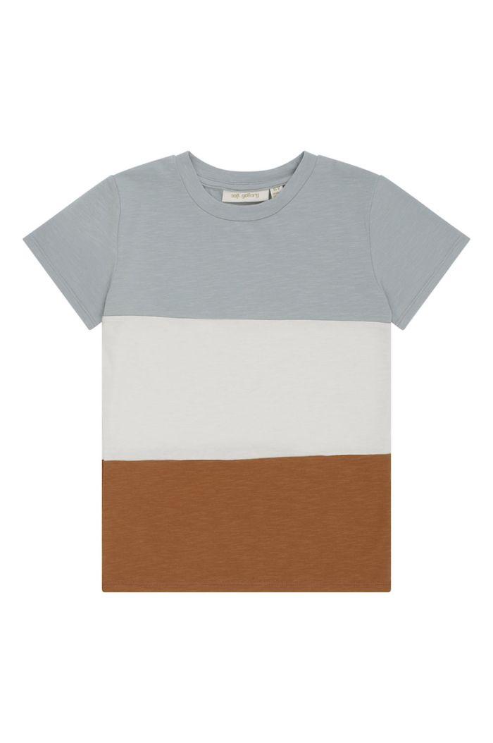 Soft Gallery Bass T-shirt Abyss_1