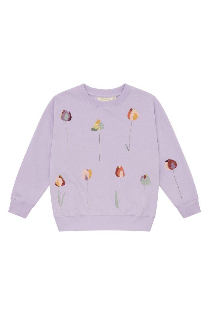 Soft Gallery Baptiste Sweatshirt Lavender Frost_1