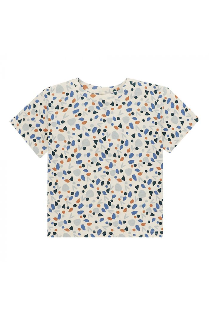 Soft Gallery Asger T-shirt Powder Puff, All-over print Figura_1