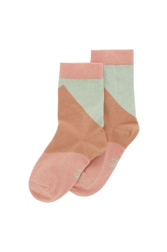 Soft Gallery Junior Girl Socks Dewkist, All-over print Candystripe_1