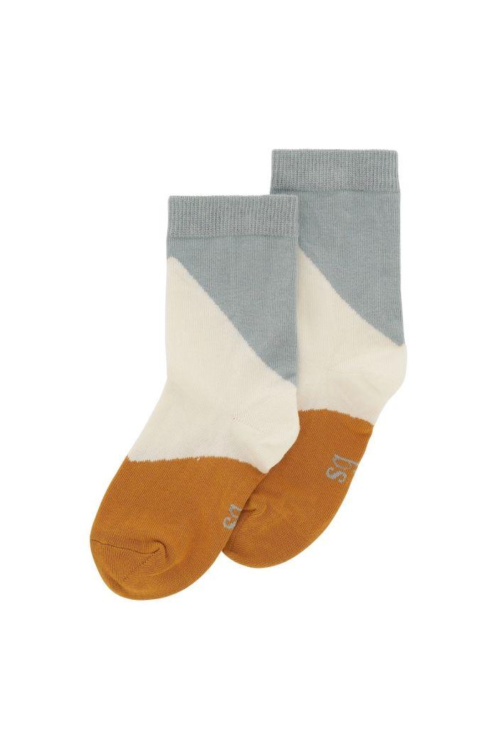Soft Gallery Junior Boy Socks Gardenia,  Blockcolor_1