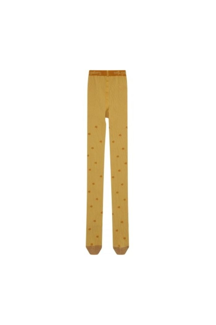 Soft Gallery Junior Girl Tights New Wheat , All-over print Posy_1