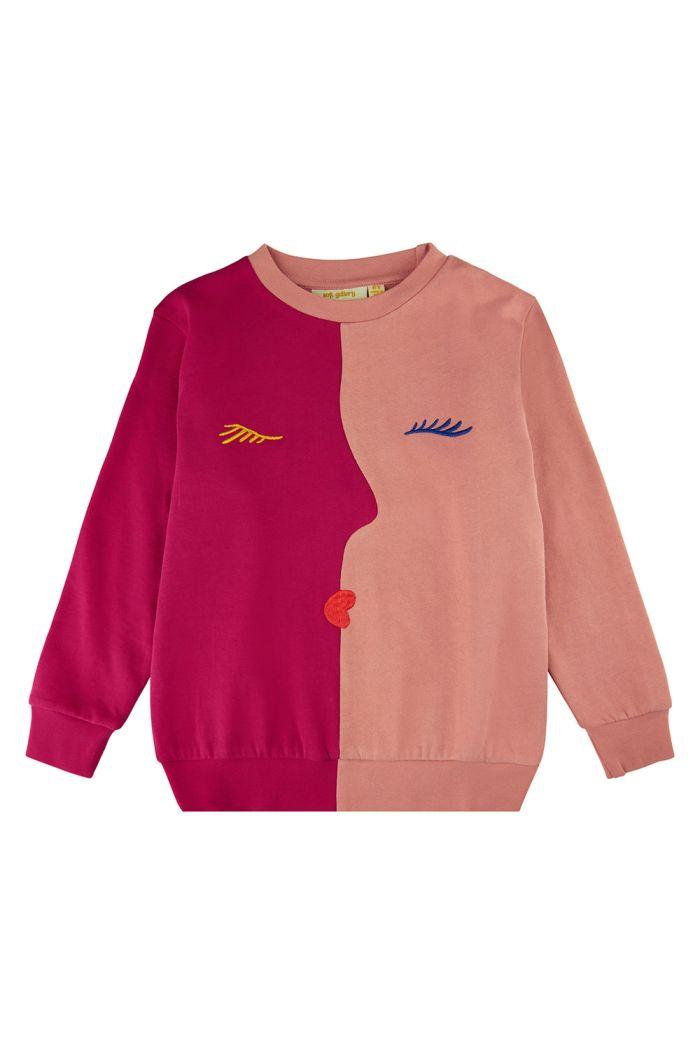 Soft Gallery Baptiste visage Sweatshirt Cherries Jubilee_1