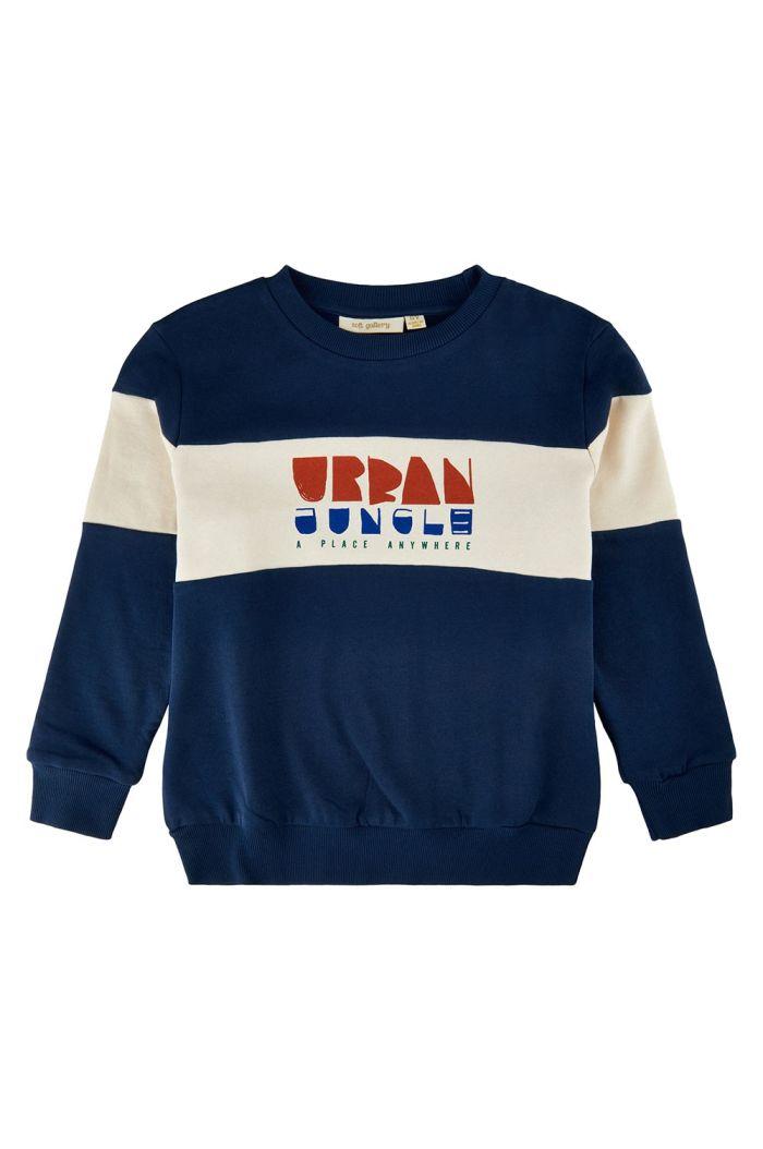 Soft Gallery Baptiste Sweatshirt Insignia Blue_1
