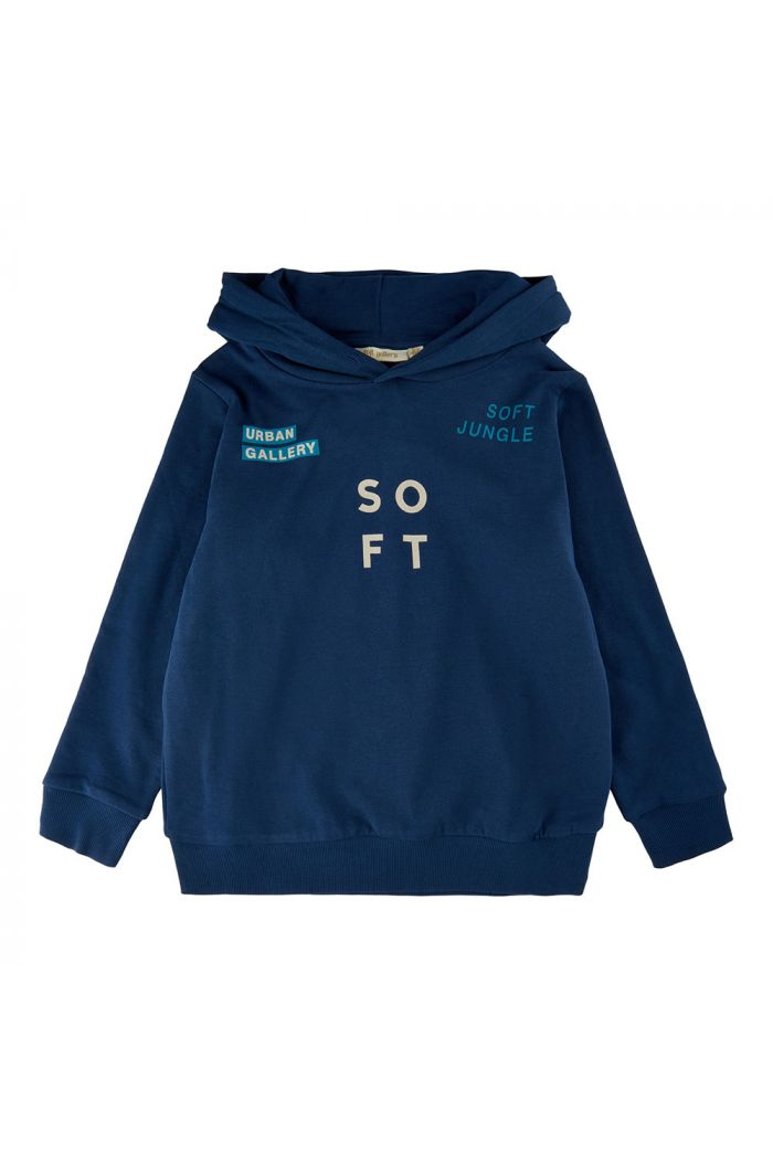 Soft Gallery Bowie Hoodie Insignia Blue_1