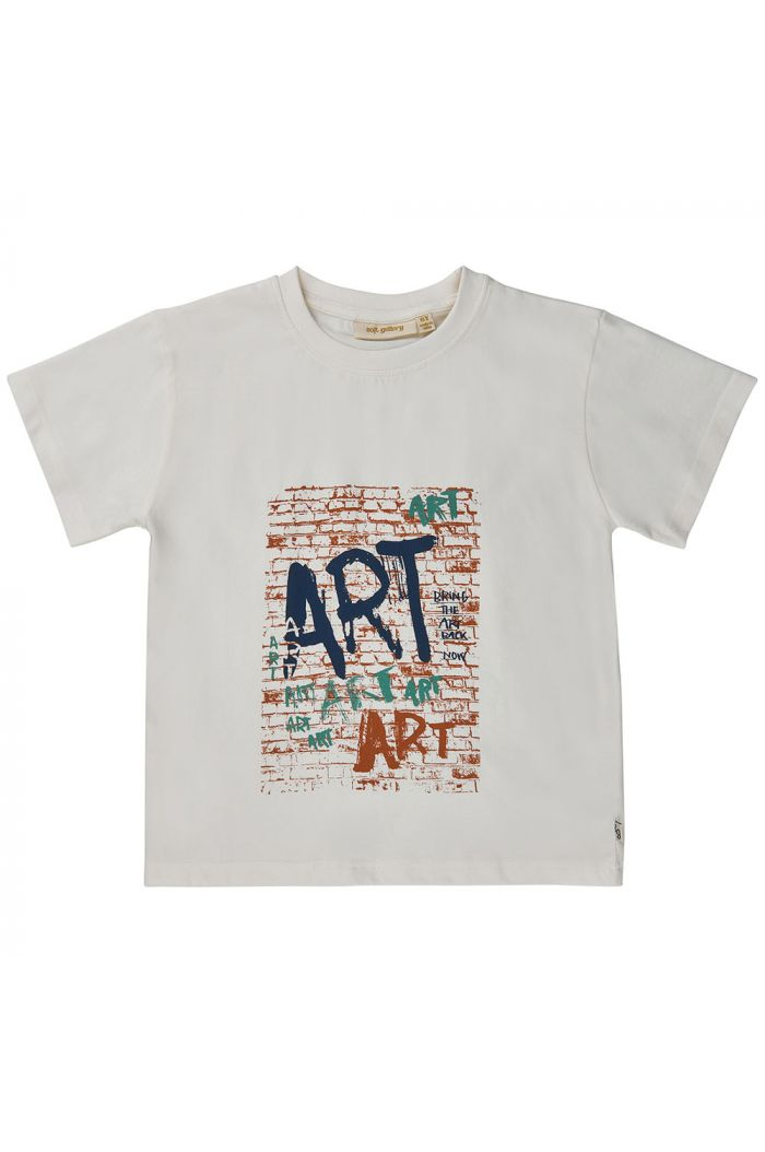 Soft Gallery Asger Longsleeve T-shirt Bright White