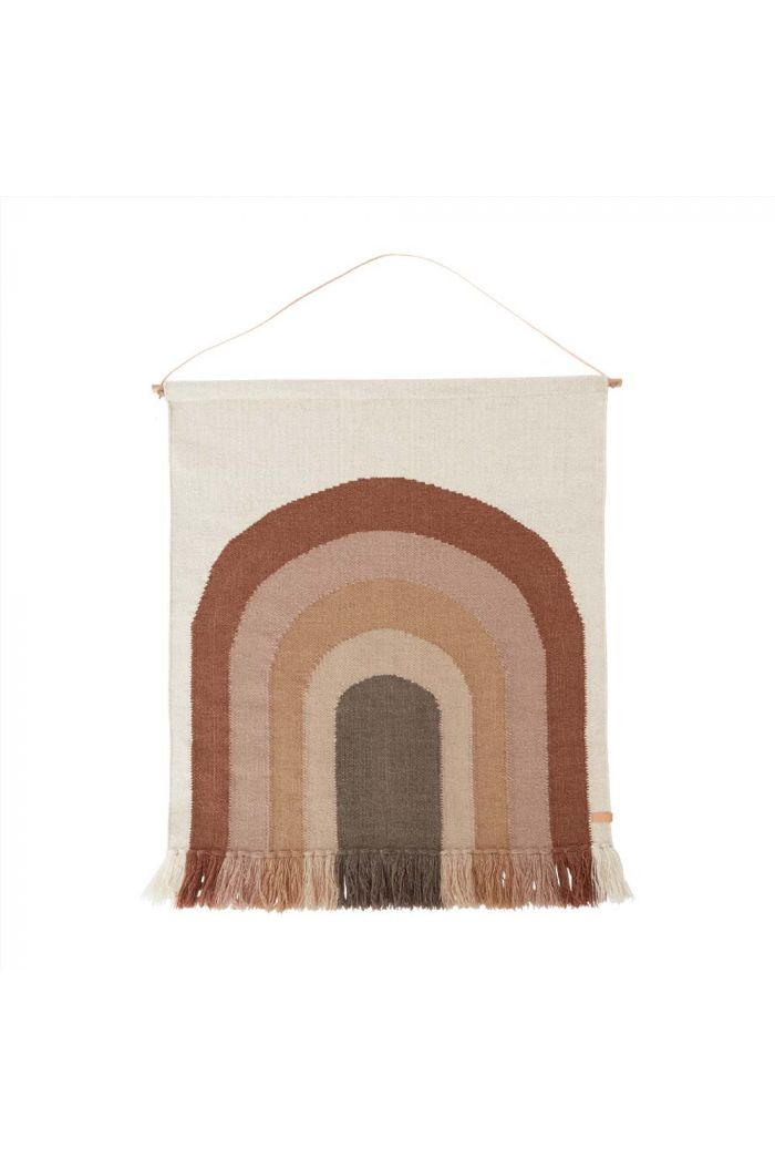 OYOY Follow The Rainbow Wall Rug Choko_1