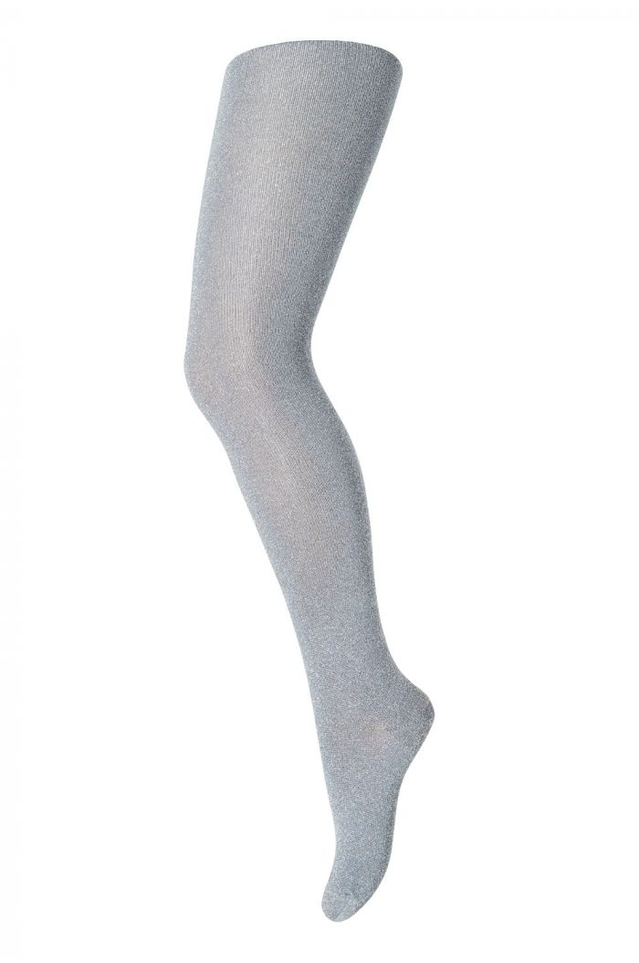 MP Denmark Tights cotton With Glitter 1331 Steel Grey_1