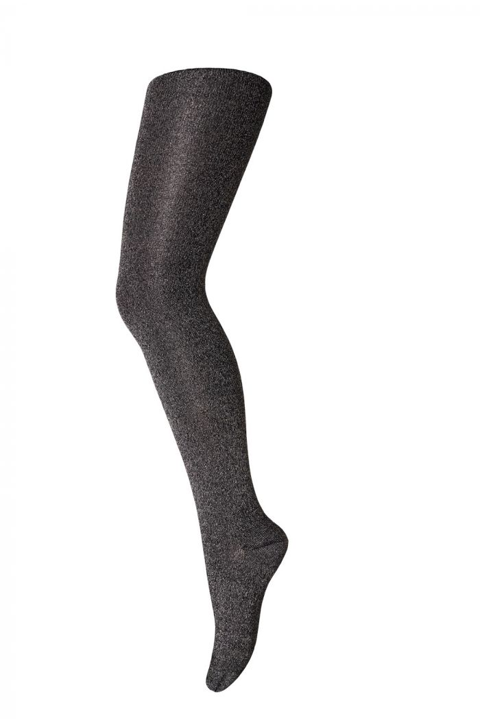 MP Denmark Tights cotton with Glitter 66 Navy / Gold