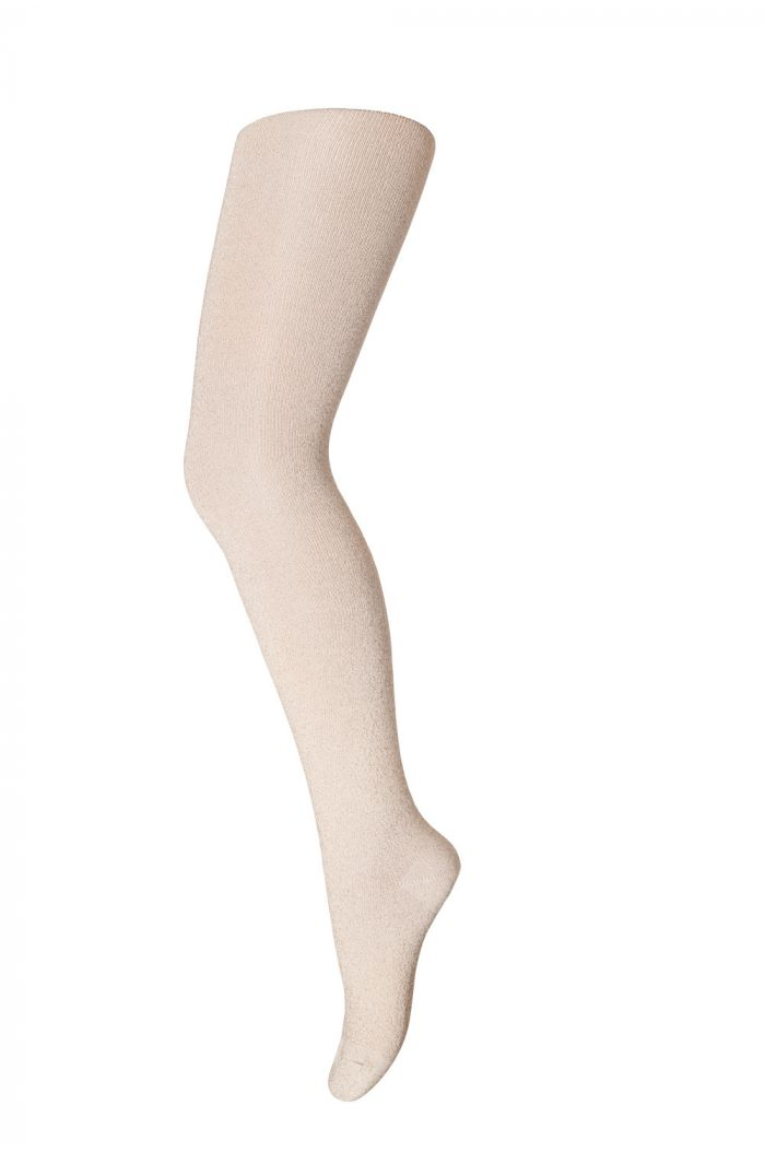 MP Denmark Tights cotton With Glitter 732 Light Gold