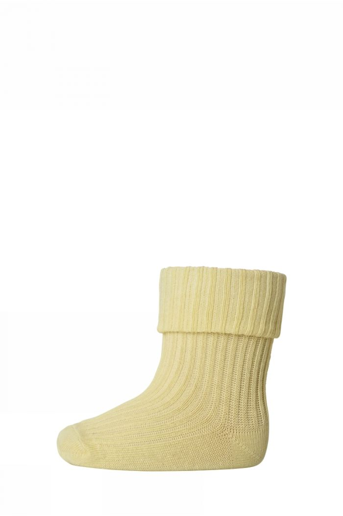 MP Denmark Anklesock 2/2 Pad Baby 2099 Yellow