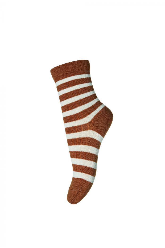 MP Denmark Ankle socks Elis 3127 Bombay Brown_1