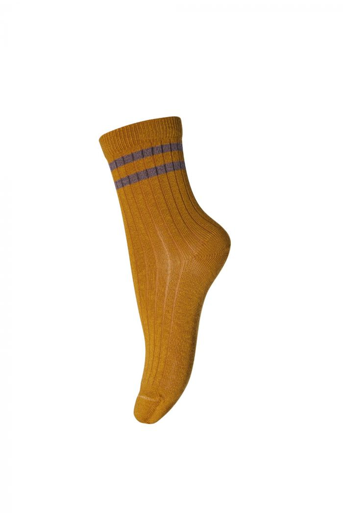 MP Denmark Ankle socks Benn 4255 Golden Spice_1