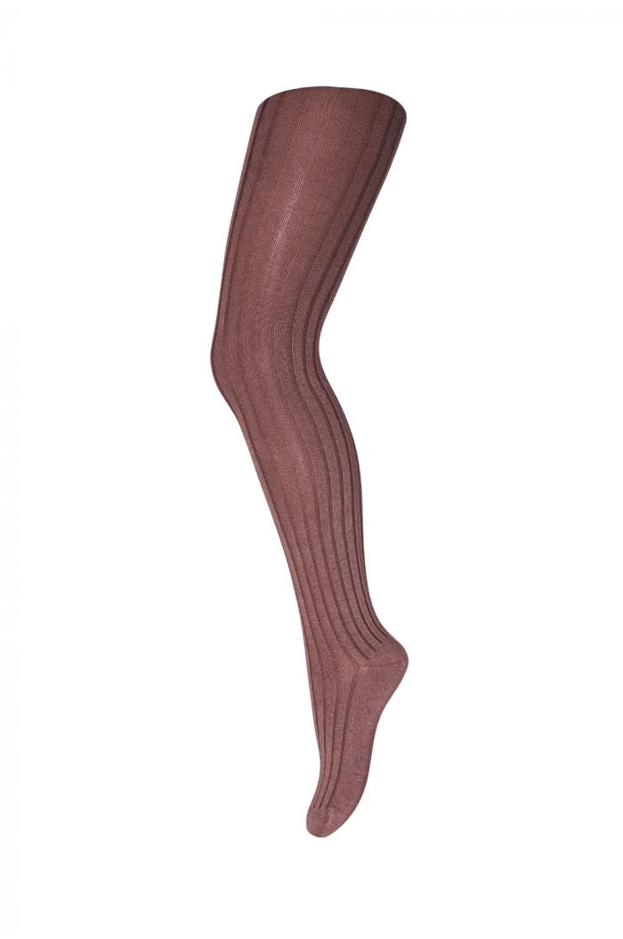 MP Denmark Tights Cotton Rib 180 Brown_1