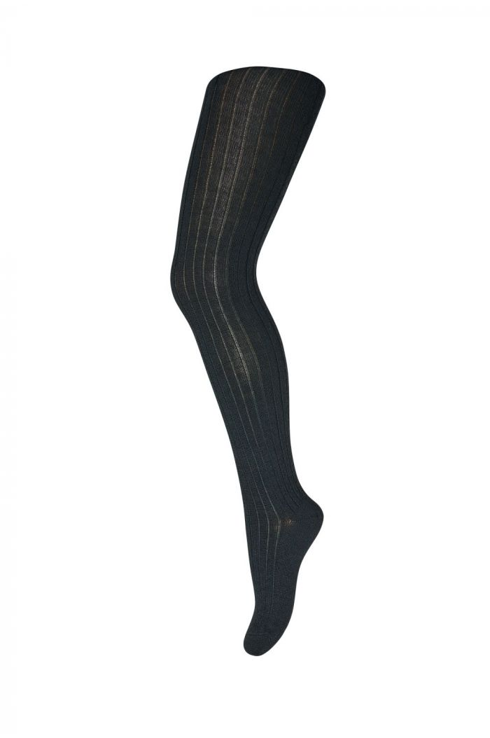 MP Denmark Tights Cotton Rib 4254 Deep Forest_1