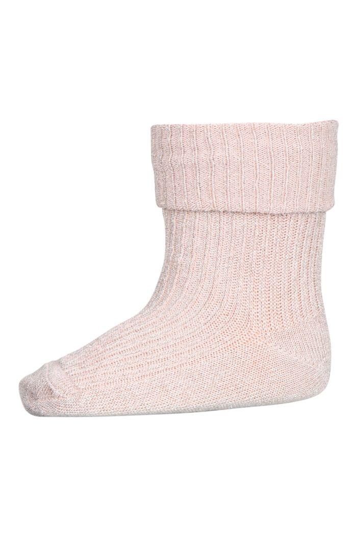 MP Denmark Ida glitter socks 853 Rose dust_1