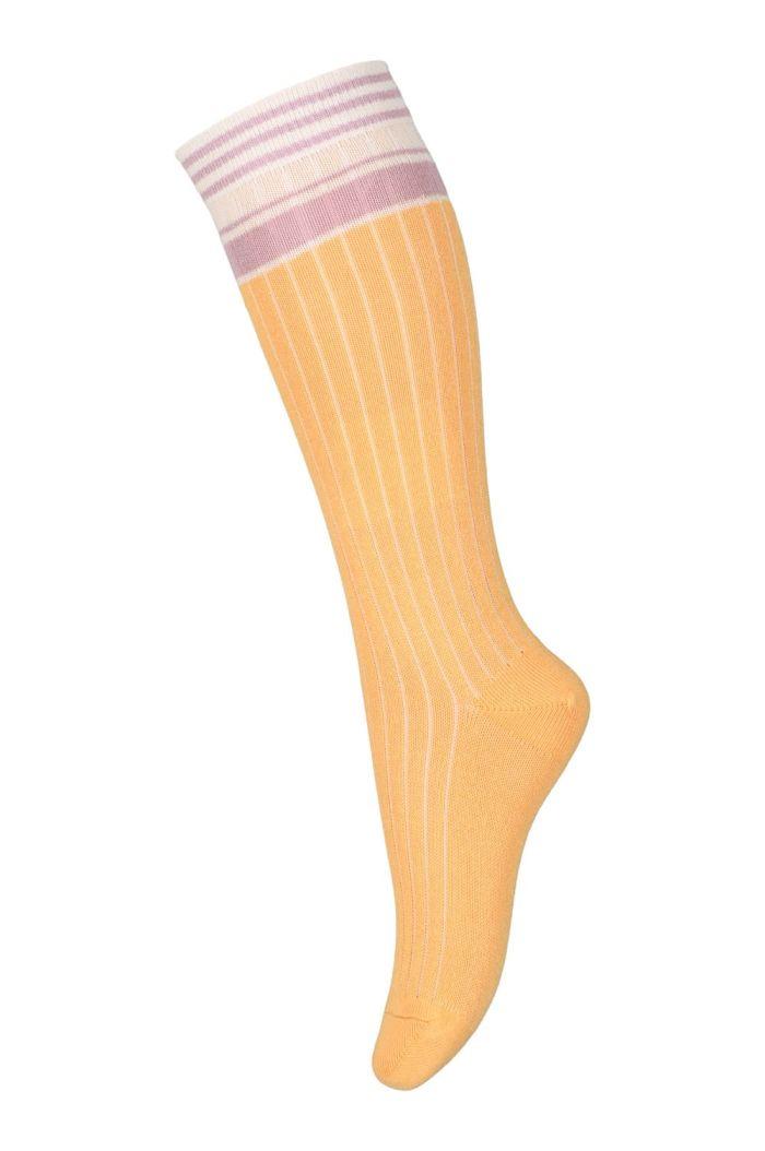 MP Denmark Bibi knee socks 4098 Ochre_1