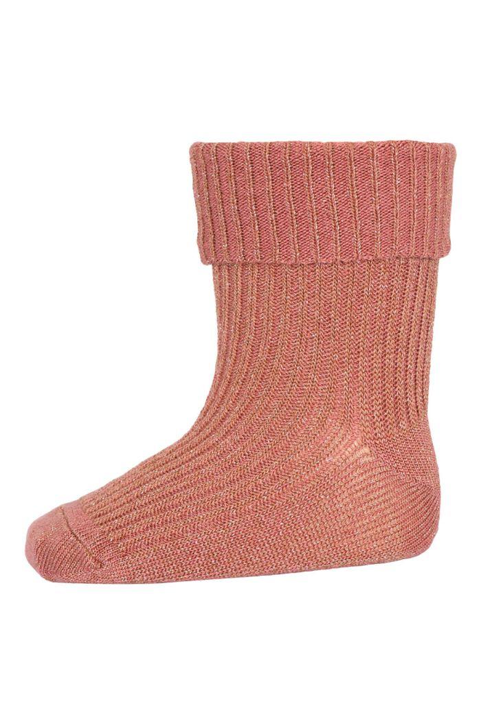 MP Denmark Ida glitter socks 831 Canyon Rose_1