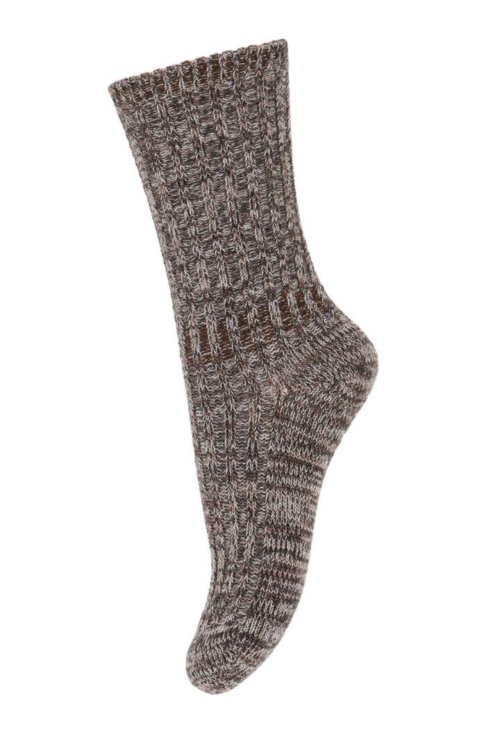 MP Denmark Noa socks 76 Brown Sienna