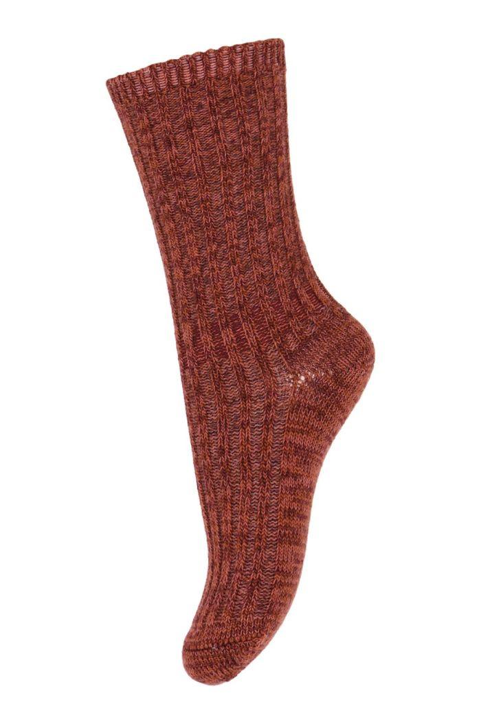 MP Denmark Noa socks 1451 Wine Red