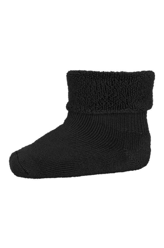 MP Denmark Wool/cotton socks 08 Black