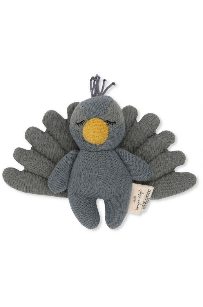 Konges Sløjd Mini Peacock toy Teal