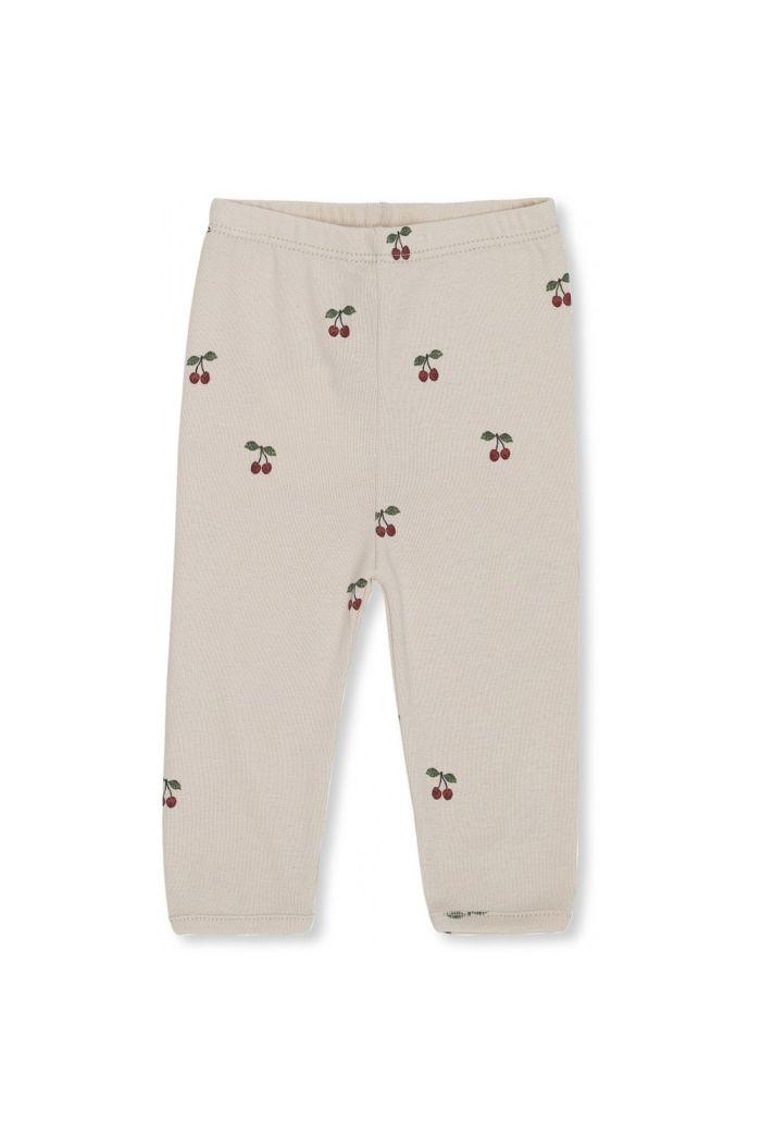 Konges Sløjd Newborn Pants Deux Cherry/Blush_1