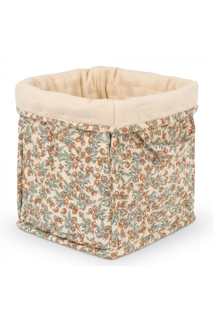Konges Sløjd Small Quilted Box Orangery Beige_1