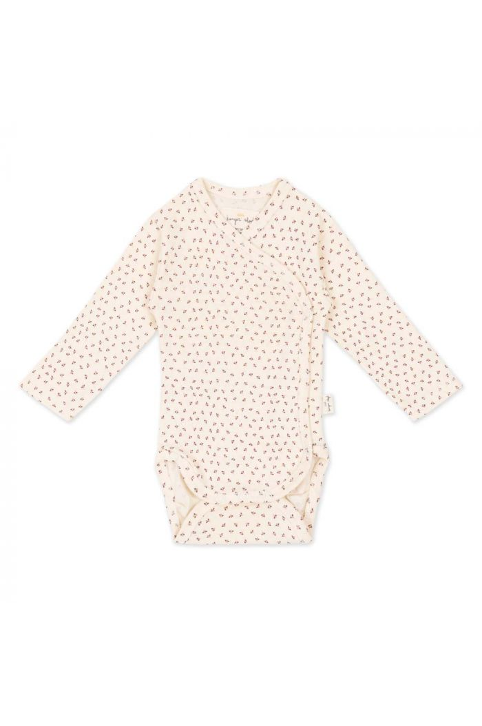 Konges Sløjd New Born Body Tiny Clover Beige_1