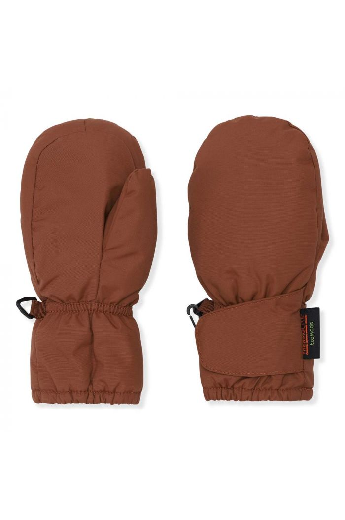 Konges Sløjd Baby Snow Gloves Choco Bean_1