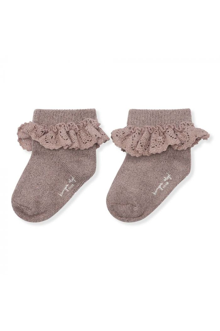 Konges Sløjd Lace Socks Lurex Hazel_1