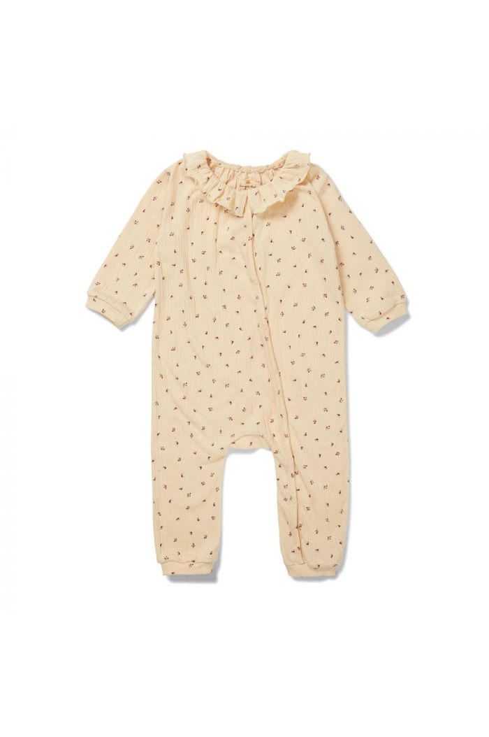 Konges Sløjd Chleo Onesie Bloom-Red/Blue_1