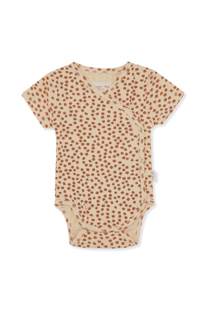 Konges Sløjd New Born Body Short Sleeve Buttercup Rosa_1