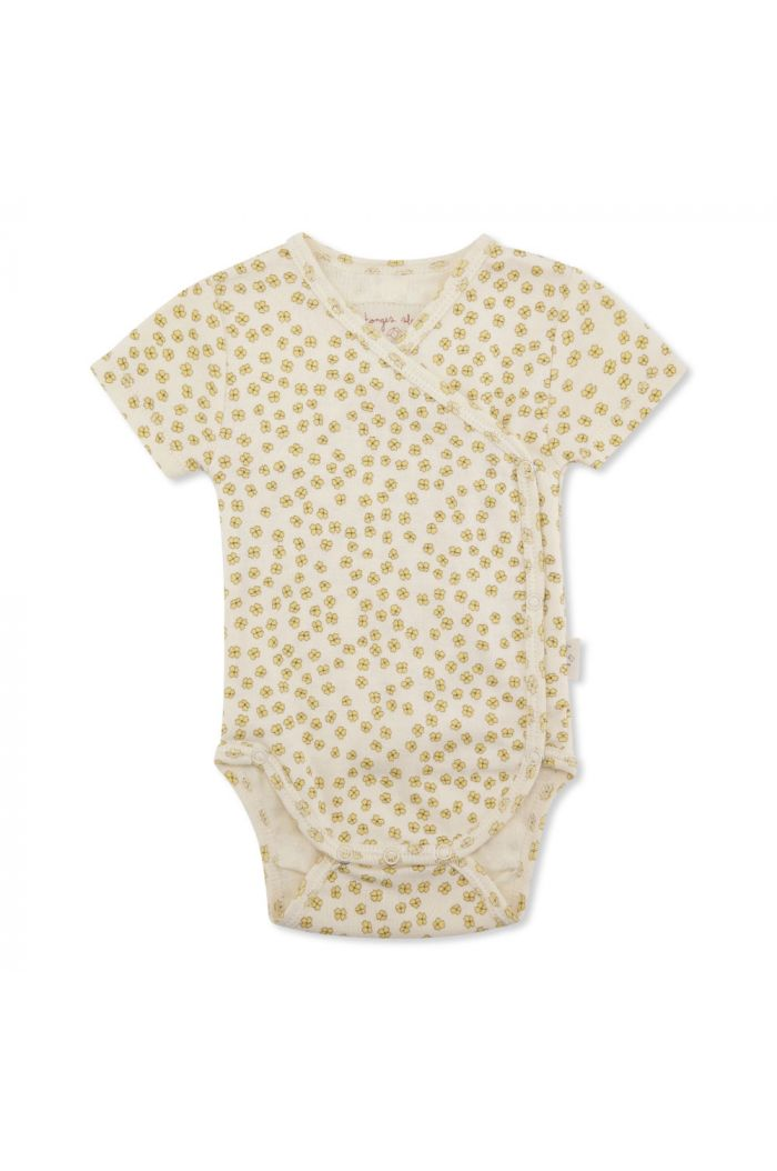 Konges Sløjd New Born Body Short Sleeve Buttercup Yellow_1
