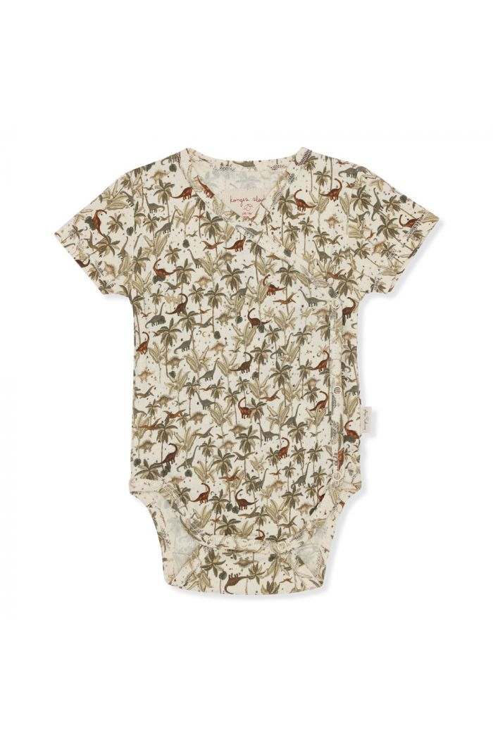 Konges Sløjd New Born Body Short Sleeve Dino_1