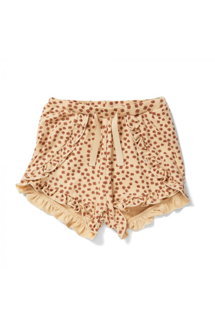 Konges Sløjd Reya Frill Shorts Buttercup-Rosa_1