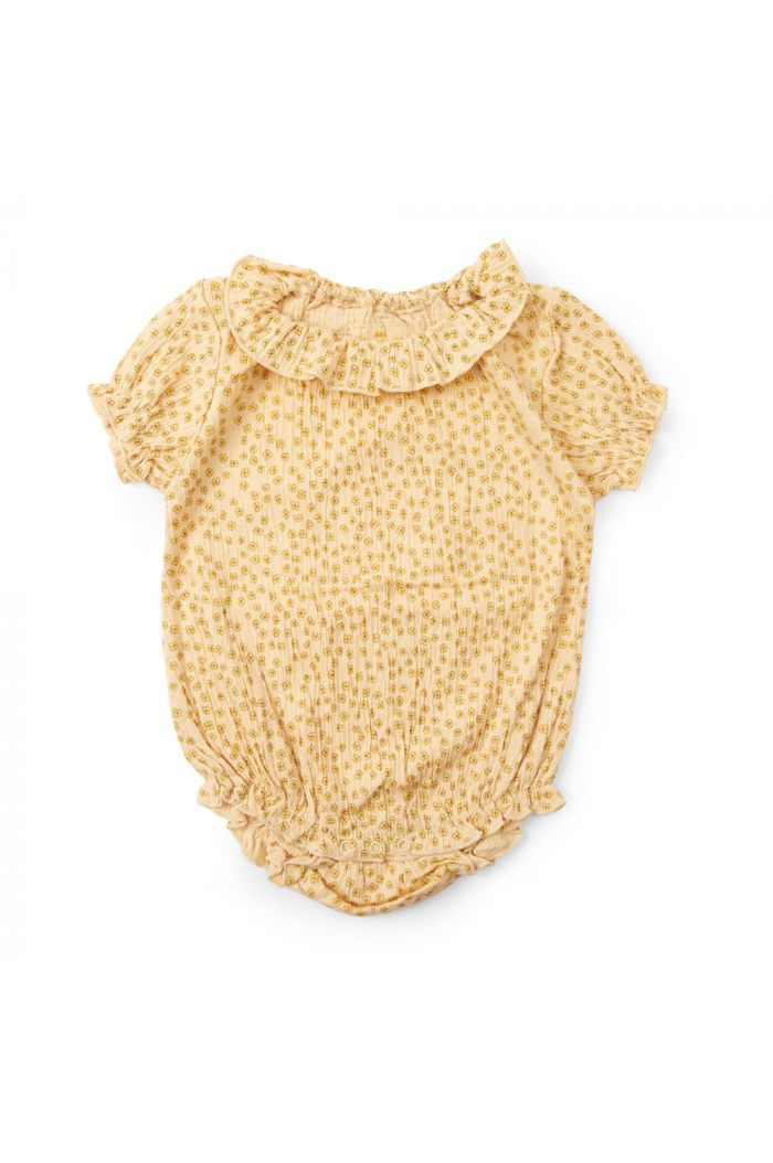 Konges Sløjd Chleo Short Sleeeve Body Buttercup-Yellow_1