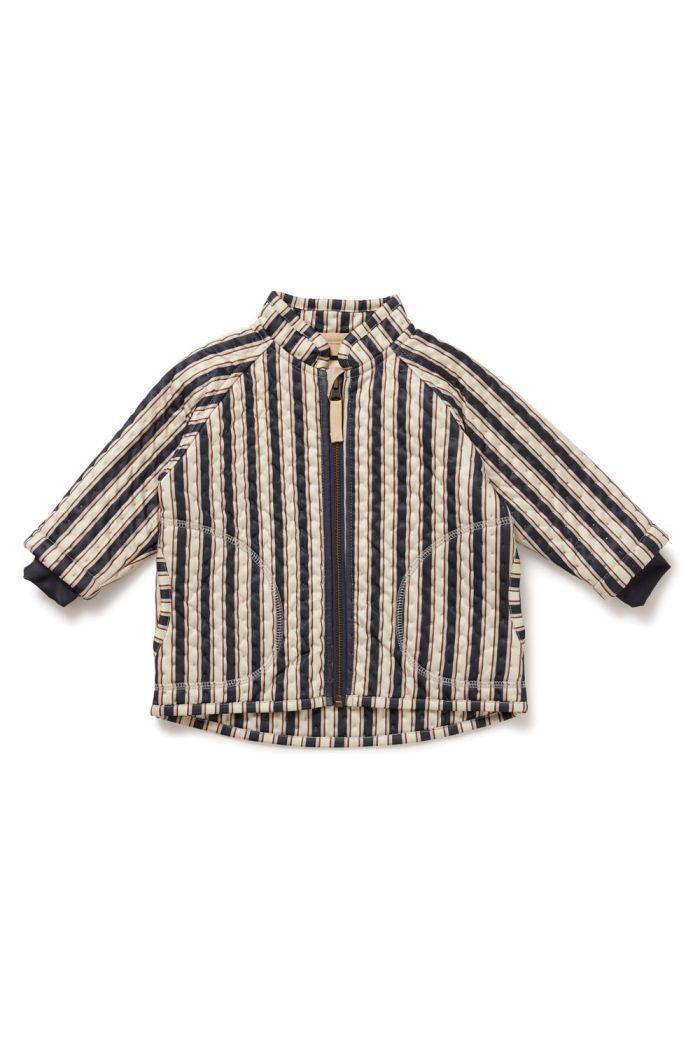 Konges Sløjd Thermo Jacket Jersey Navy Stripe_1