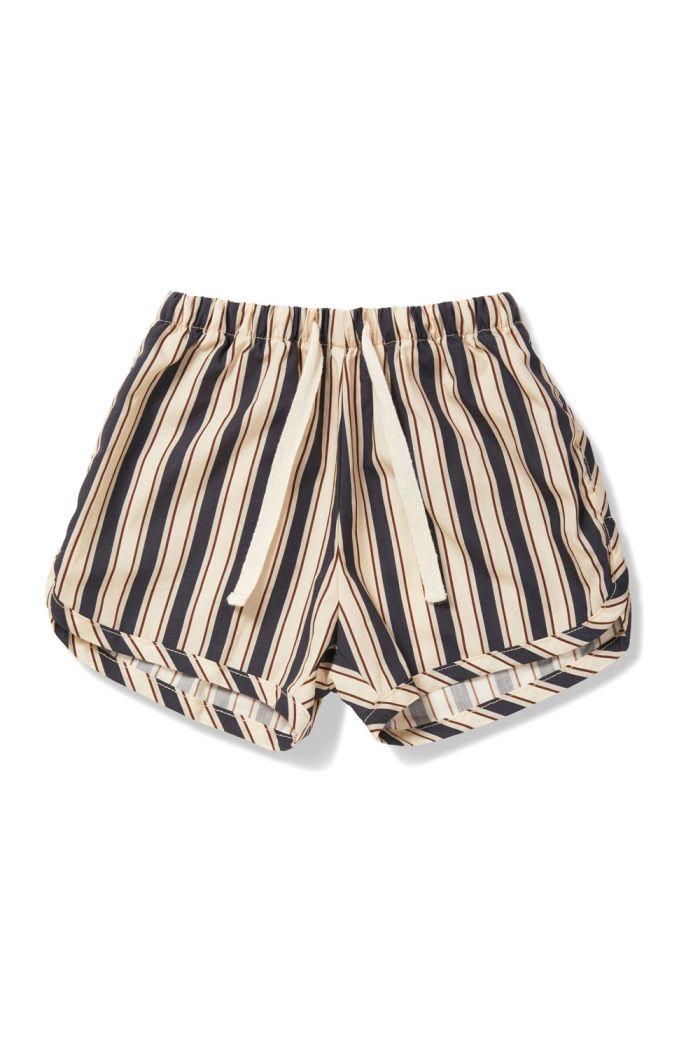 Konges Sløjd Verbena Shorts Stripe Navy_1